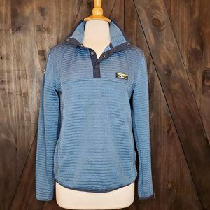 LL BEAN MENS Blue Pullover Slightly Fitted Sweater